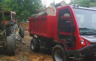 Caron CT 95 per il commercio di legname