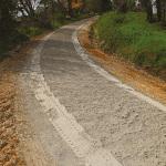 Dopo la distribuzione del cemento