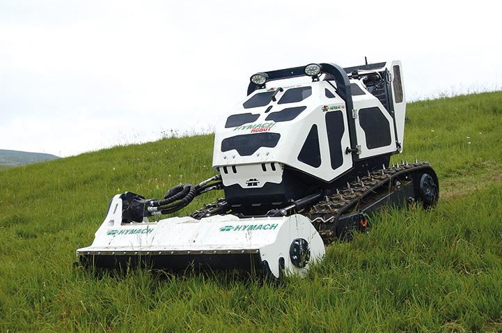 Herb-Hy, il nuovo Robot di Hymach, in dimostrazione a Pian del Cansiglio