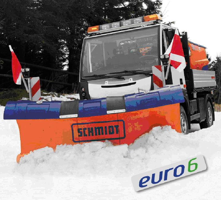 Aebi MT750 Euro 6, portattrezzi comunale compatto e insuperabile
