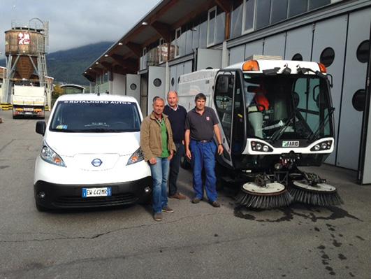 Da Rotaltek una spazzatrice Johnston Sweepers C400 al Comune di Brunico