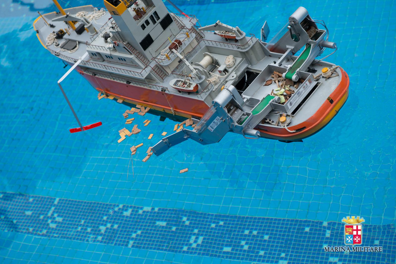 Nasce SAURO, il nuovo dispositivo anti-inquinamento in mare studiato da Marina Militare e Protezione Civile