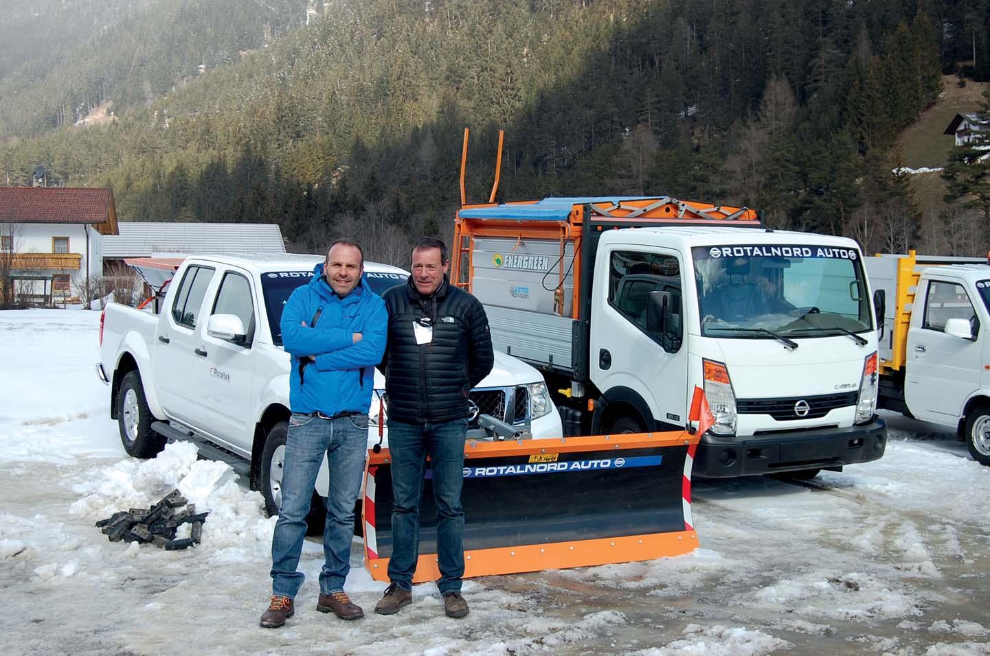 Dimostrazione invernale Rotaltek in Val di Fleres
