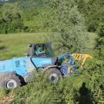 Trattore forestale Merlo Tre Emme mm350