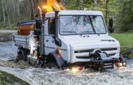 Unimog per alto fuoristrada con attrezzature da lavoro conquista la medaglia per l'innovazione a Demopark