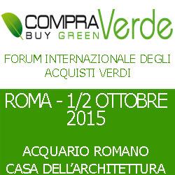 Compra Verde, forum internazionale degli acquisti verdi