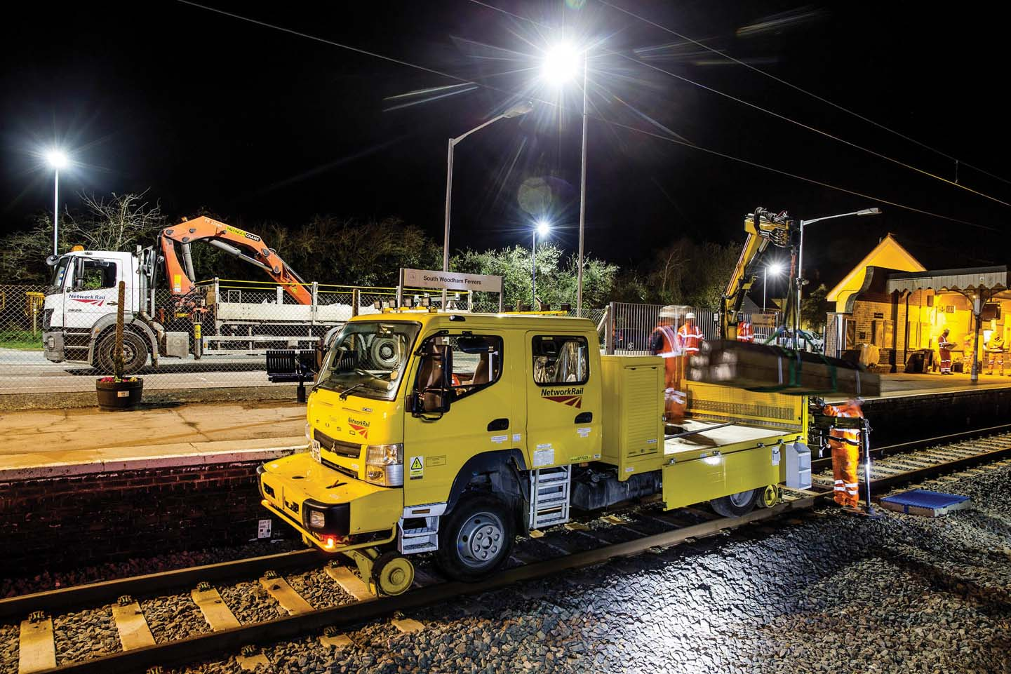 Fuso Canter a trazione integrale per la rete ferroviaria britannica