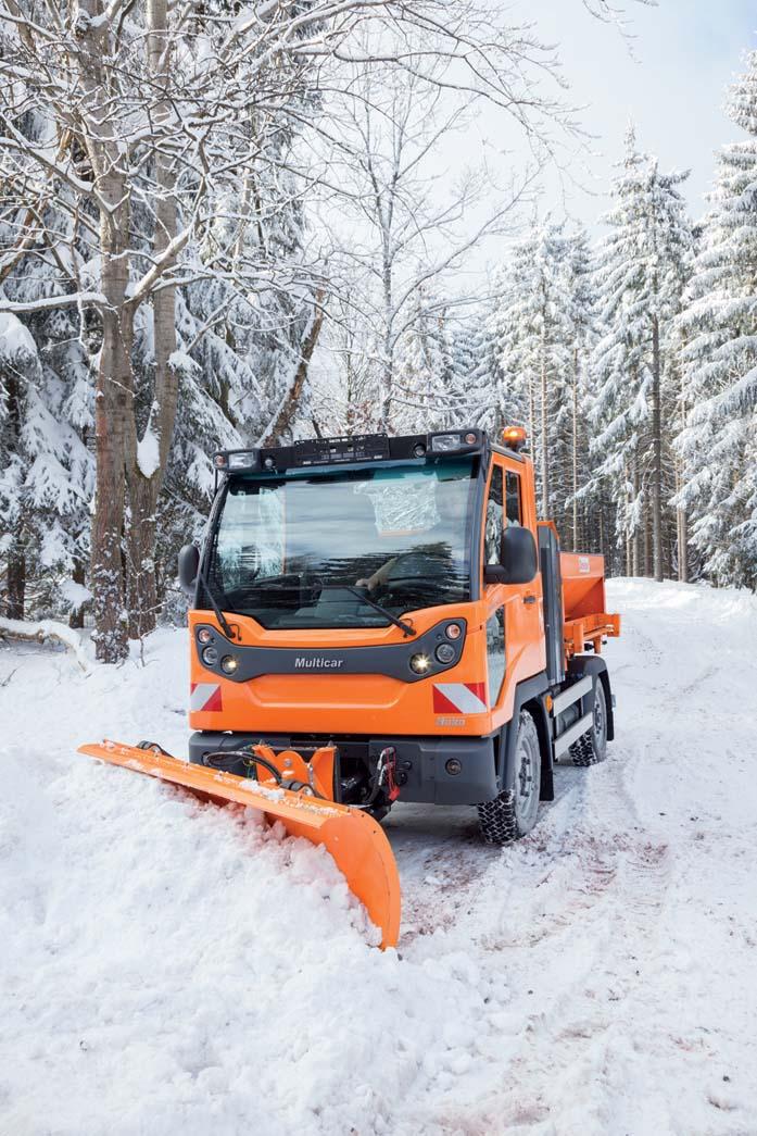 Multicar M31 Euro VI: funzionale per tutte le stagioni, straordinario per neve e gelo