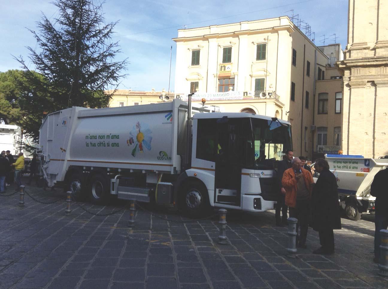Eco.Lan si affida a Econic NGT per il servizio di raccolta differenziata a Lanciano