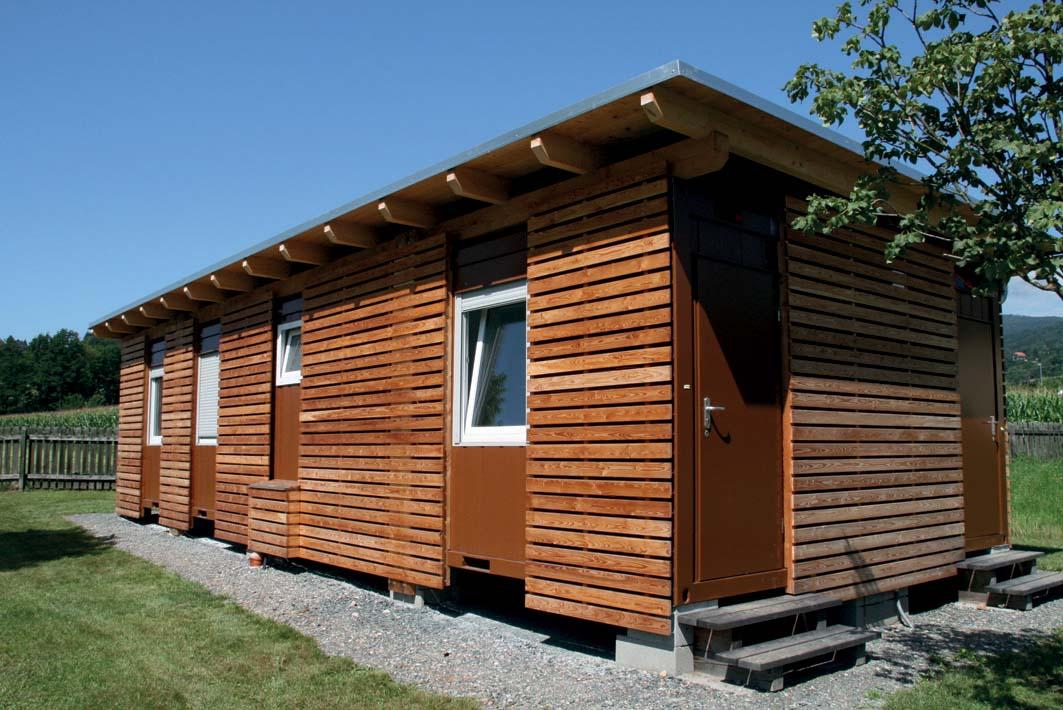 Containex anche per lo svago all 39 aria aperta strutture for Prefabbricati abitativi