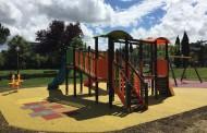 Tre parchi gioco in plastica riciclata Green Projects per Castelfranco di Sotto
