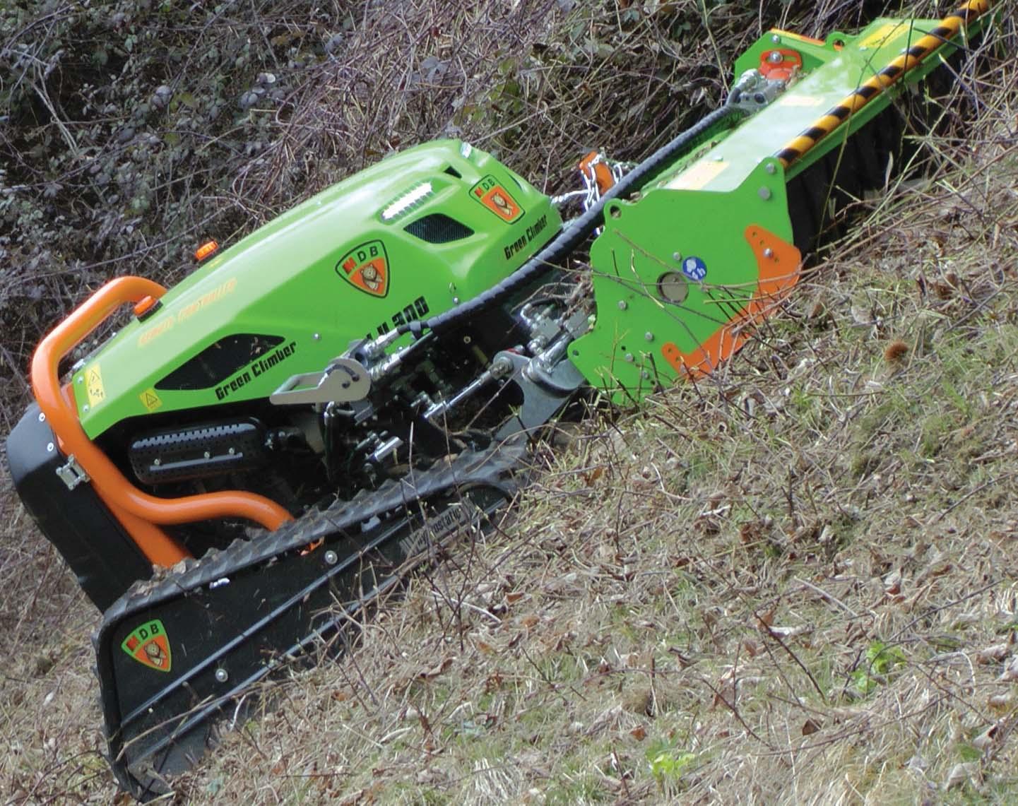 MDB Green Climber LV300: il robot radiocomandato  facile da usare