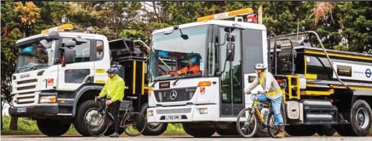 Econic incrementa  la sicurezza dei ciclisti e dei pedoni