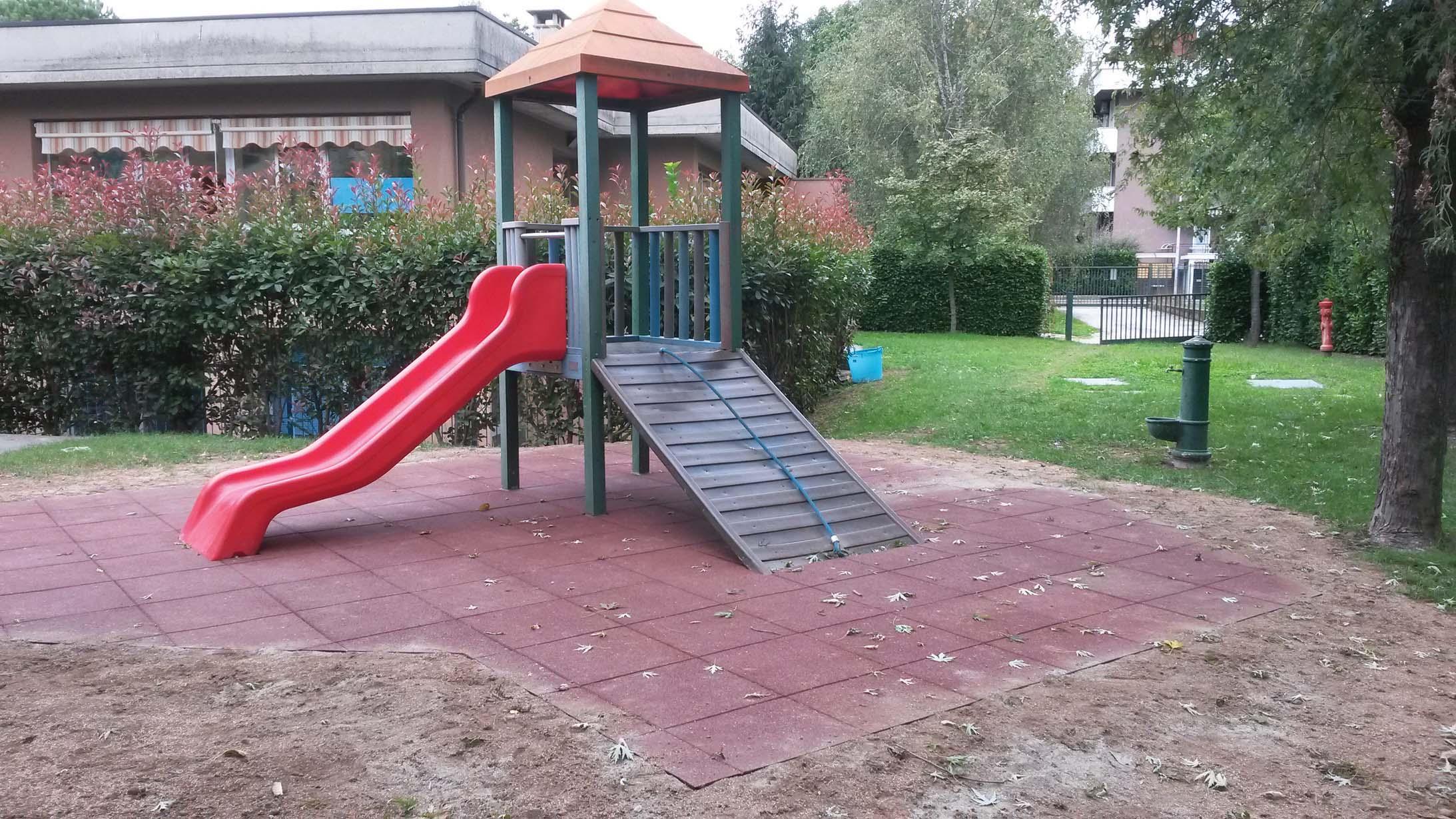 Green Projects oltre a realizzare i parchi gioco rende più sicuri quelli già esistenti