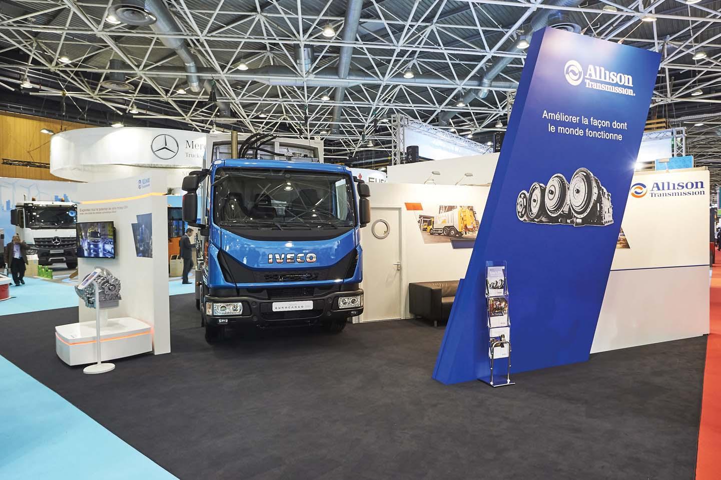 E' allestito con Allison il più piccolo veicolo medio CNG per la raccolta rifiuti di Francia