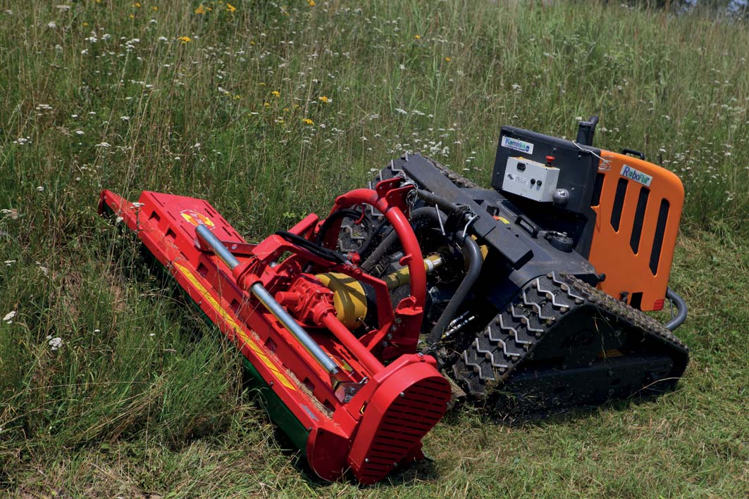 Willtec presenta i portattrezzi radiocomandati RoboFlail