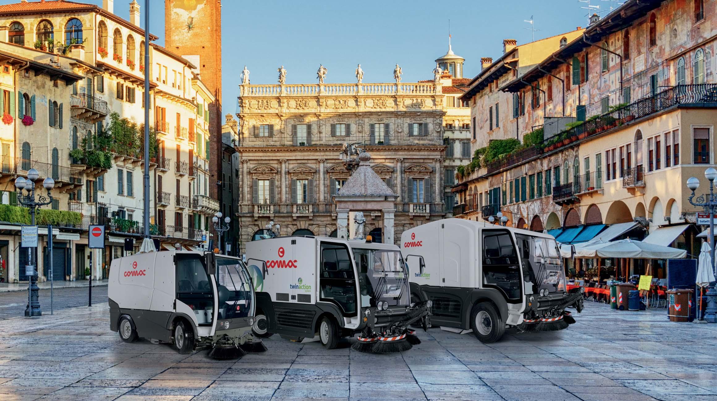 L'innovazione al servizio del pulito: Comac presenta una nuova gamma per l'igiene urbana