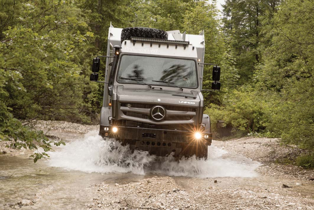 Unimog anche quest'anno è Off-Road Vehicle 2017