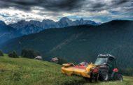 Aebi TT281: presentazione sulle Dolomiti