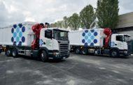 Contarina: trasporto rifiuti nel segno della sostenibilità con i nuovi veicoli ibridi Scania