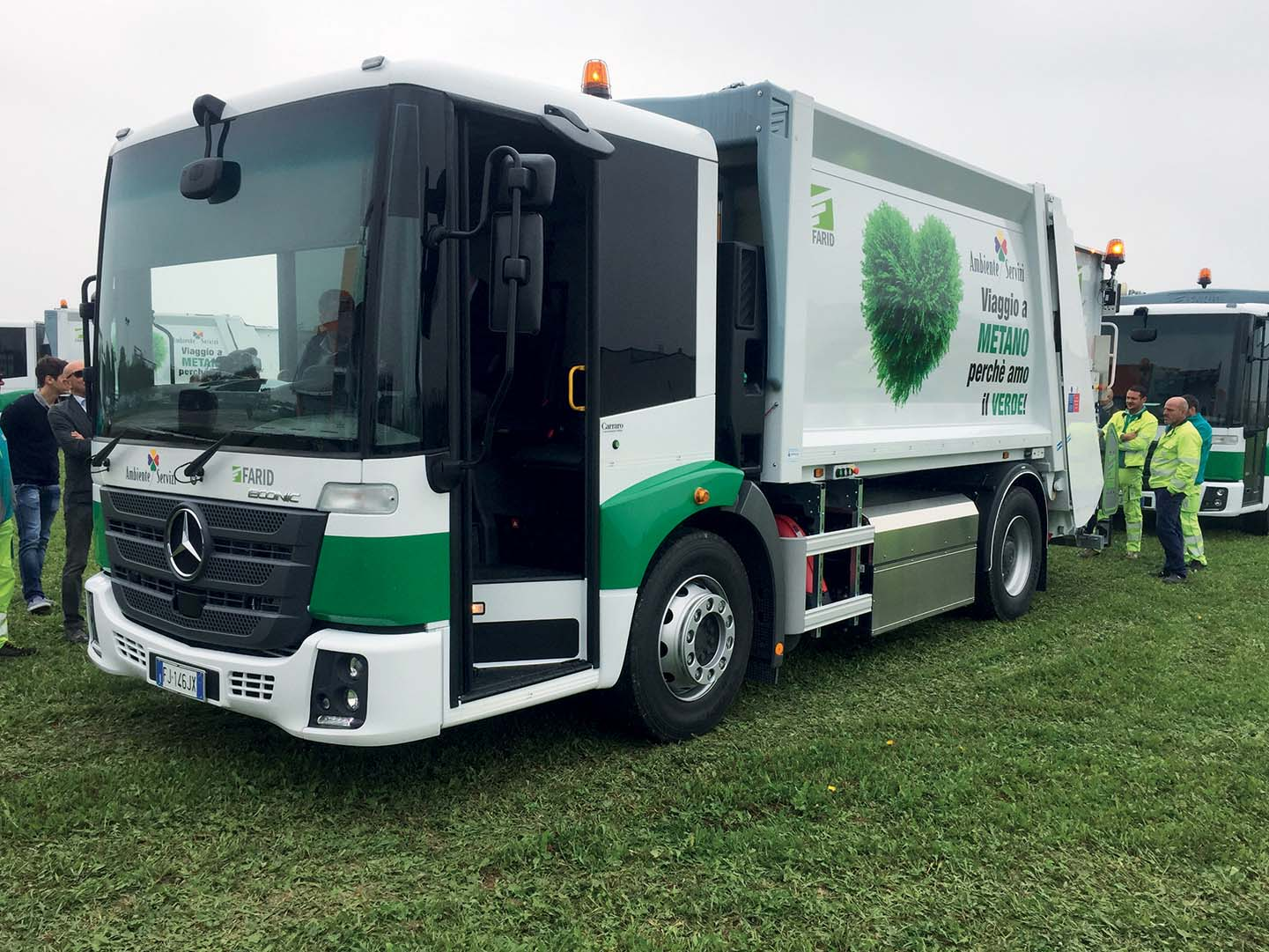 6 Econic a gas metano/biogas per Ambiente Servizi