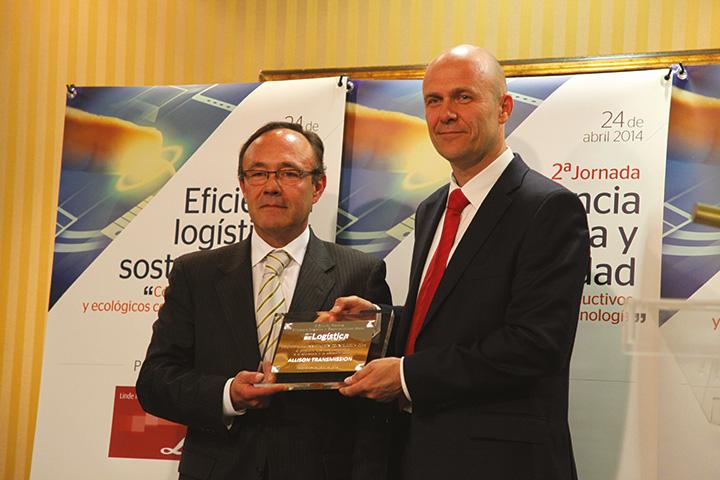 Allison Transmission riceve il premio all'innovazione tecnologica per FuelSense®