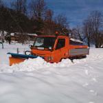 Allestimento neve con lama e spargisale