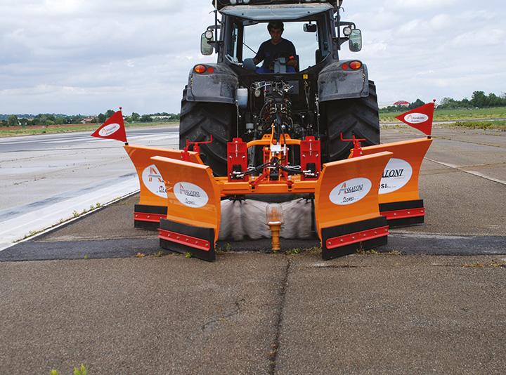 Orsi Group lancia una nuova attrezzatura Assaloni Professional per gli aeroporti