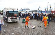 Oltre 240 veicoli con trasmissioni completamente automatiche Allison tengono pulite le strade di Amburgo