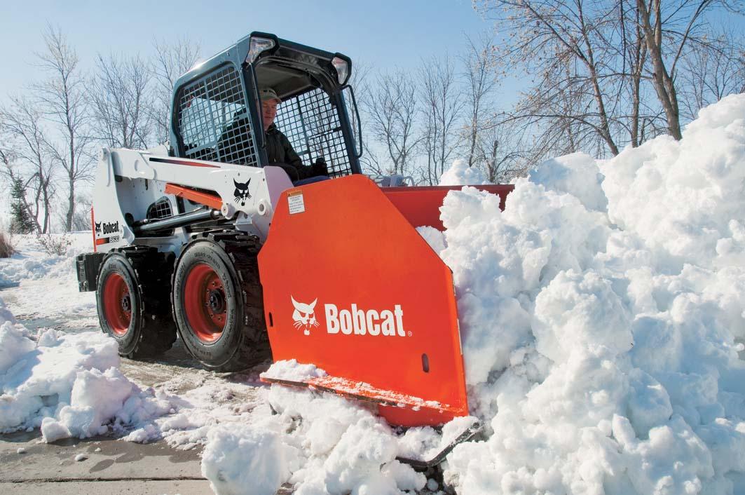 Ampliamento della gamma Bobcat per la manutenzione invernale
