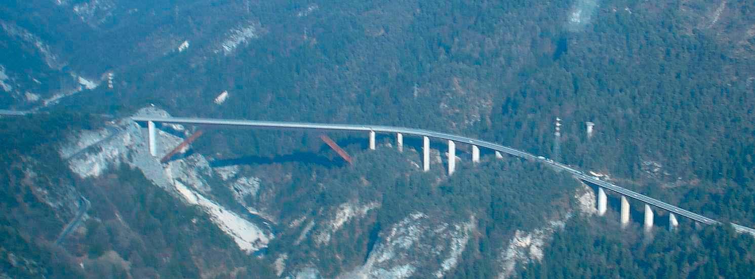 Studio, analisi di vulnerabilità e montaggio delle infrastrutture Anas: il Ponte Cadore
