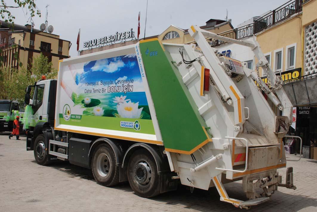 Una raccolta rifiuti davvero verde: il Comune di Bolu, in Turchia, sceglie compattatori a gas naturale compresso con trasmissioni Allison