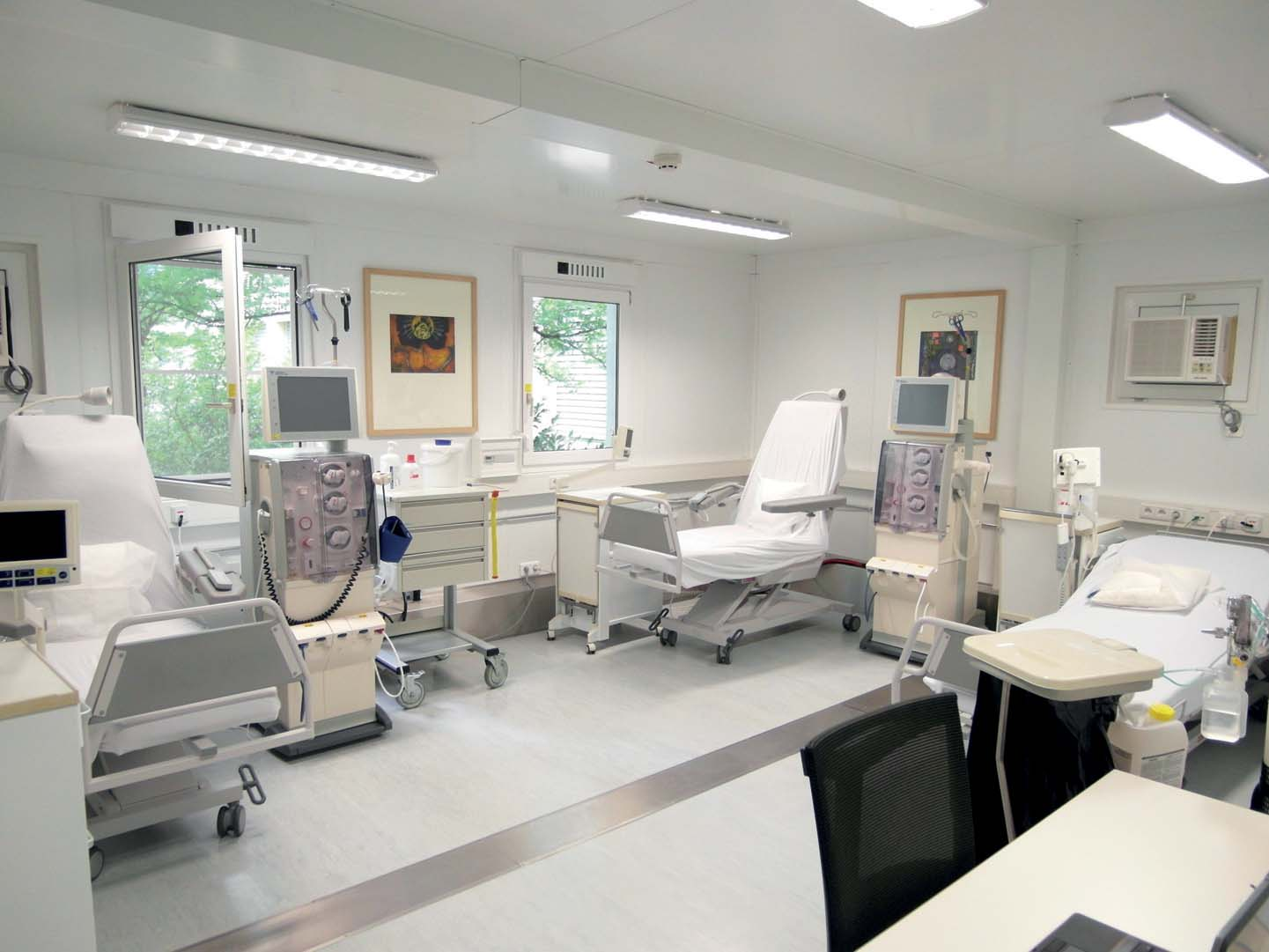 Containex anche per gli ospedali