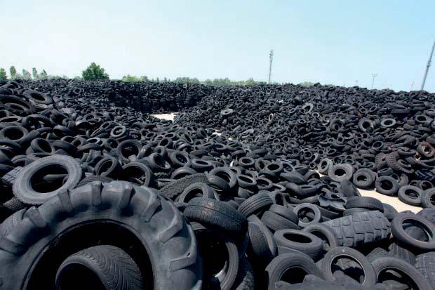 15 milioni di investimenti nella filiera Ecopneus del riciclo degli Pneumatici Fuori Uso
