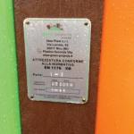 parchi gioco in plastica riciclata