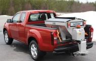 Option presenta il nuovo spargitore elettrico  in acciaio inox Hilltip