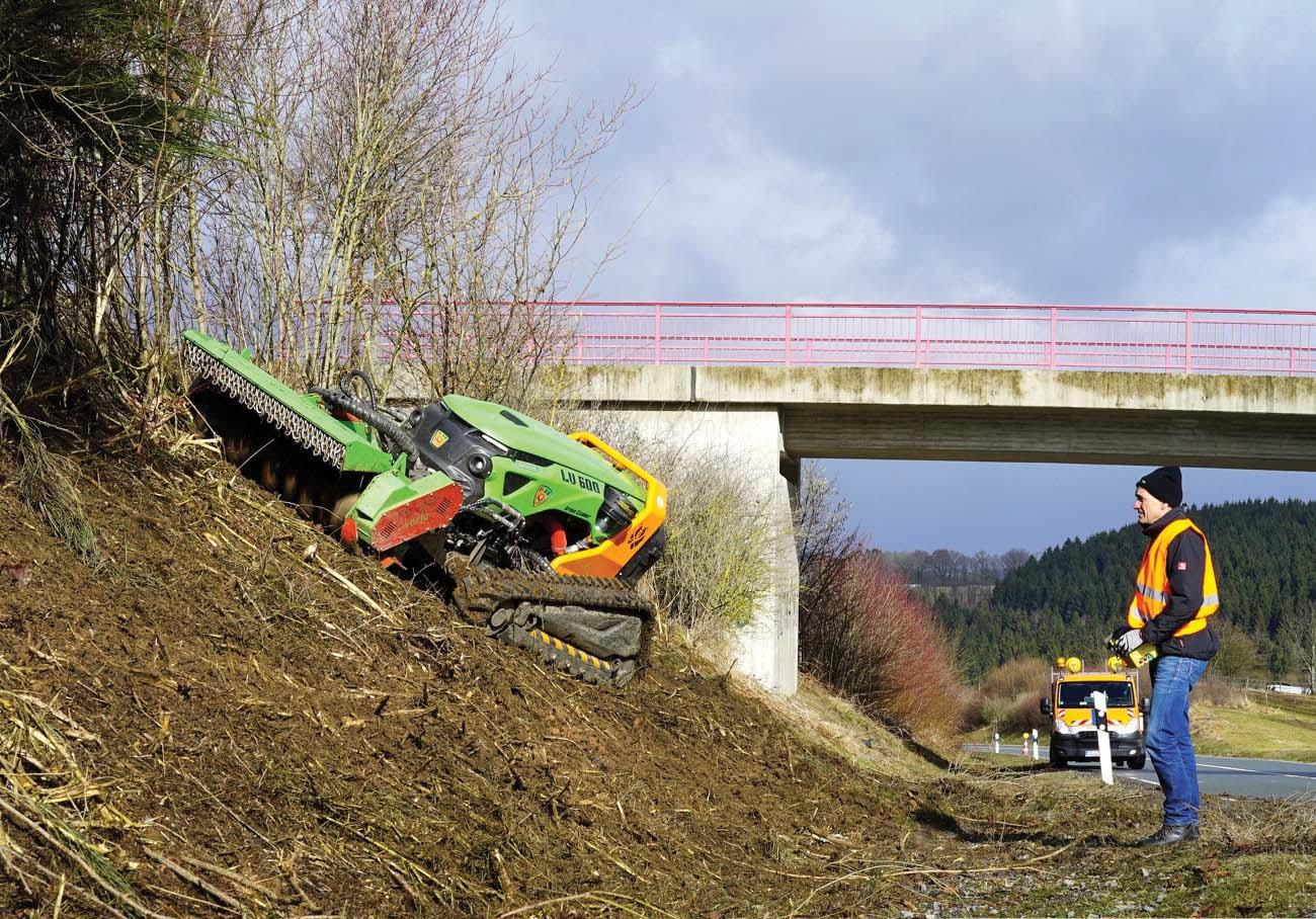 Una nuova generazione di macchine per la manutenzione del verde