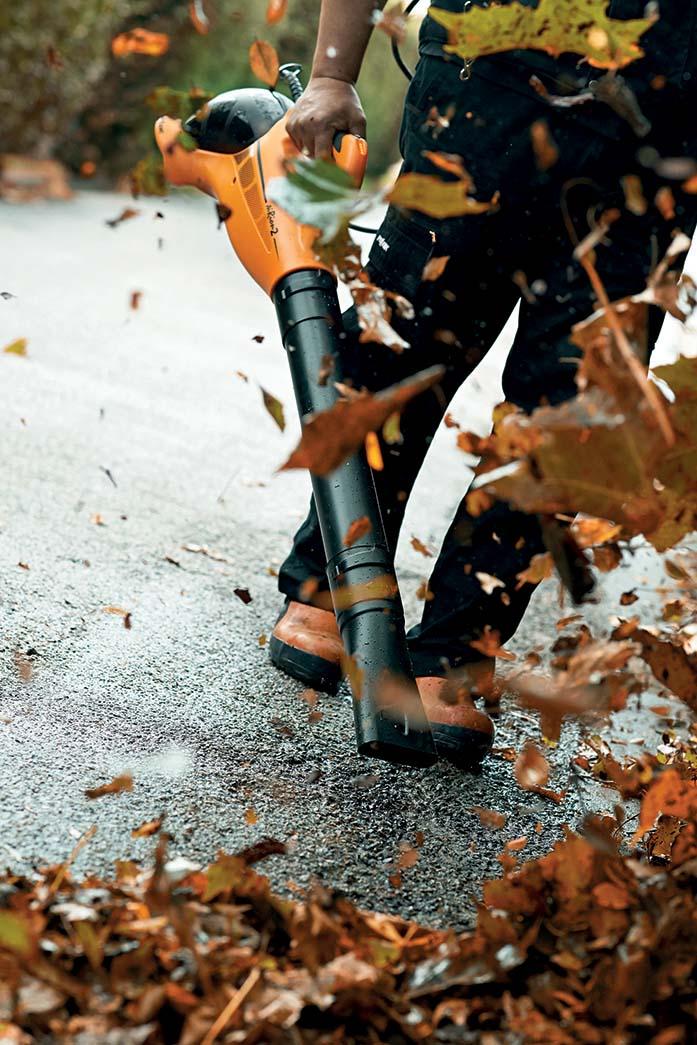 Le nuove armi di Pellenc per la pulizia urbana e lo spazzamento
