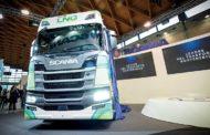 Scania investe sul metano:   ad Ecomondo presenta  la gamma completa di motori a gas per la nuova generazione di veicoli