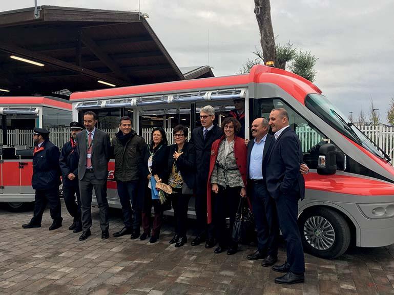 Un Dottobus, ecologico al 100%, per FICO Eataly World