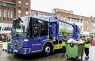 Mercedes-Benz Econic  per la raccolta rifiuti urbana con compattatore elettrico