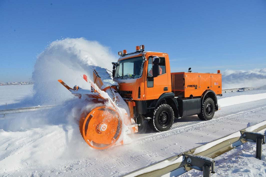 Fresia S.p.A. e Regione Abruzzo contro l'emergenza neve