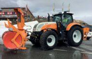 Trattori per manutenzione urbana Steyr, tecnologia ad altissimo livello sul Großglockner