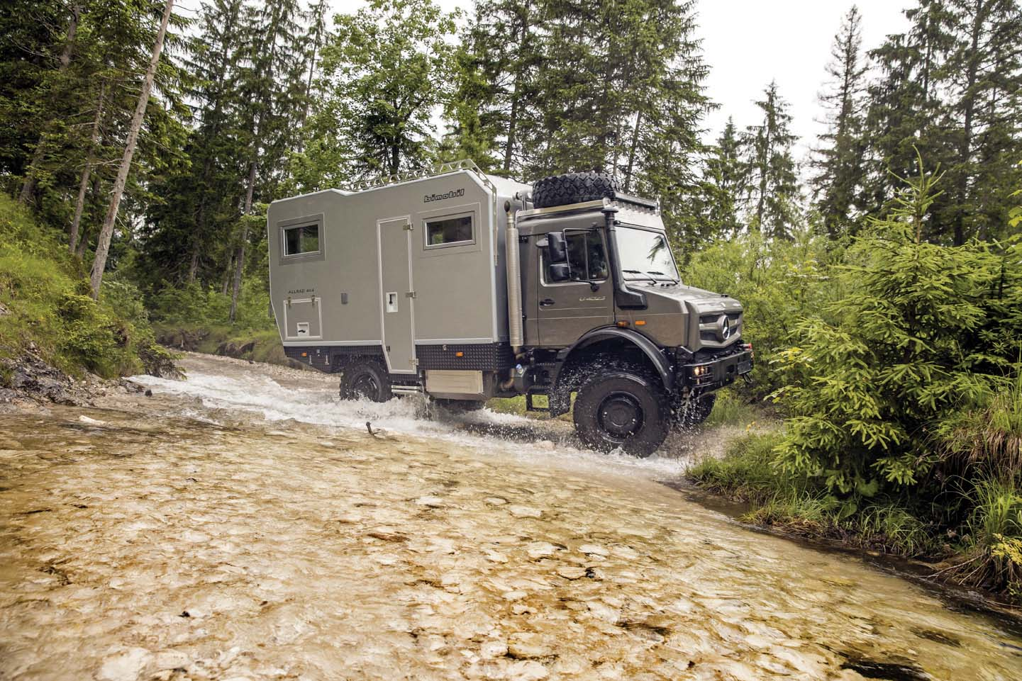 Mercedes-Benz  Special Trucks alla fiera Adventure & All-Wheel Drive