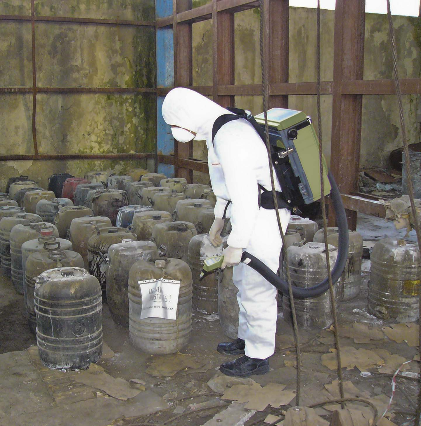 Analisi in GC-MS di siti contaminati