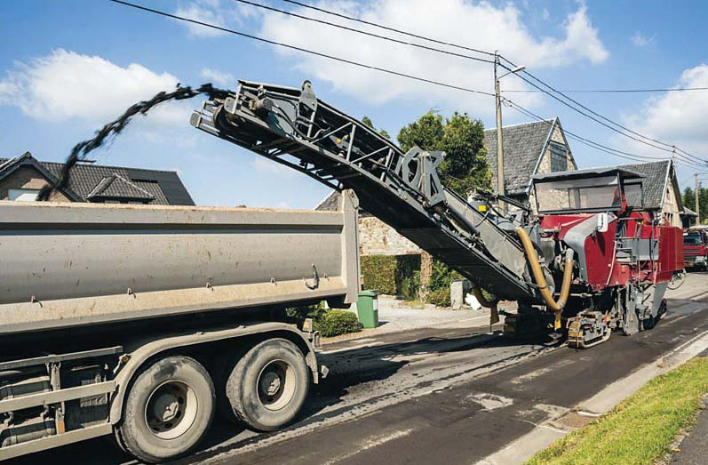 Il riciclaggio a caldo delle pavimentazioni stradali