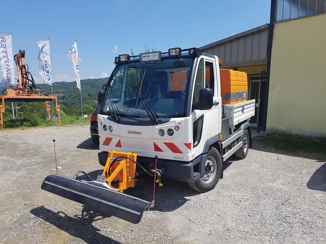 Un altro Multicar M27 per la riviera ligure