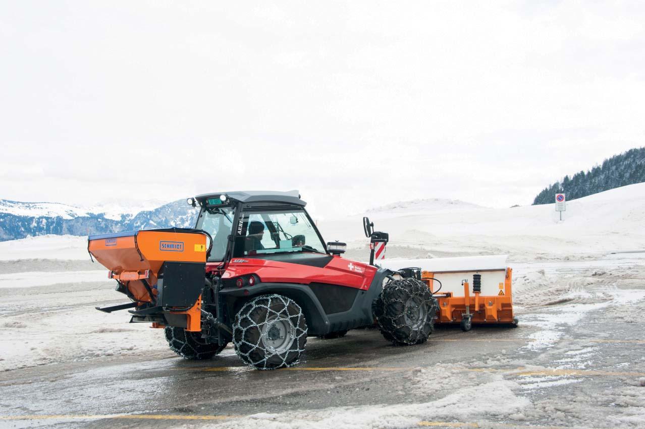 Aebi Terratrac TT281 trattore multifunzione