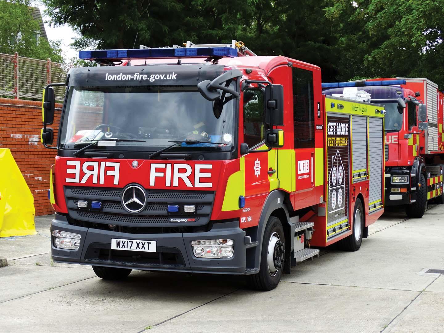 London Fire Brigade sceglie Allison per reattività e affidabilità