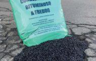 Conglomerato bituminoso plastico a freddo confezionato con i leganti Bitem